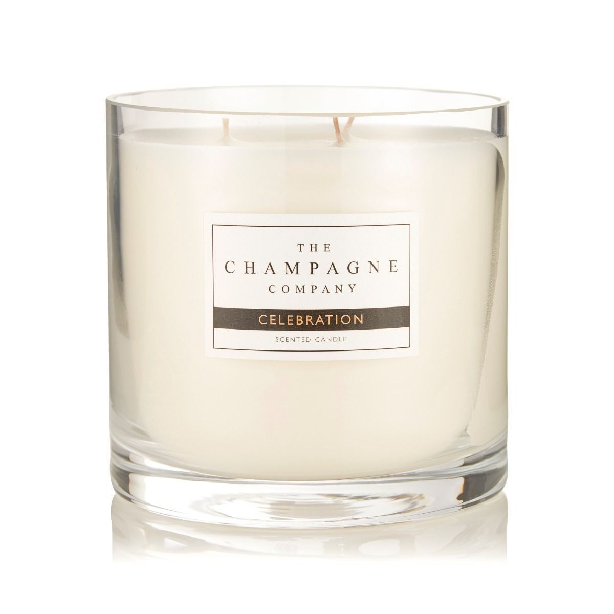 The Champagne Company Candle Celebration Large Luxury 750g