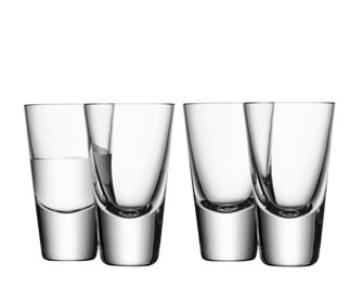 LSA Bar Collection Shot Glasses 100ml (Set of 4)