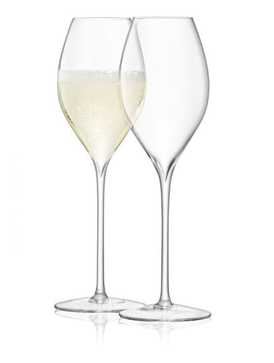 LSA Wine Collection Tulip Champagne Glasses 370ml Set of 2