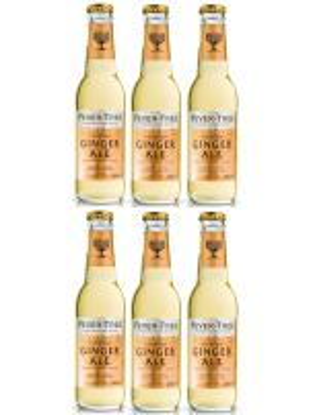Fever-Tree Ginger Ale 20cl x 6 bottles