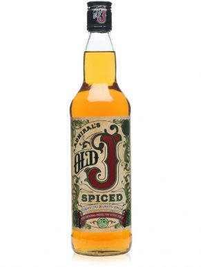 Admirals Old J Spiced Rum 70cl