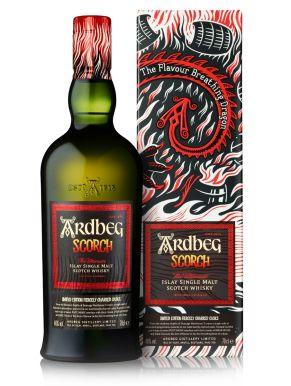 Ardbeg Scorch Islay Single Malt Scotch Whisky 70cl Gift Box
