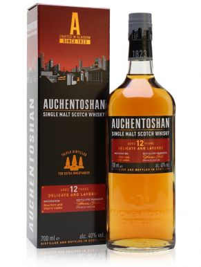 Auchentoshan 12 Year Old Whisky Gift Box