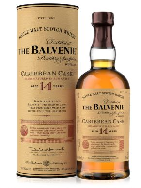 The Balvenie 14 Year Old Doublewood Caribbean Cask Whisky 70cl