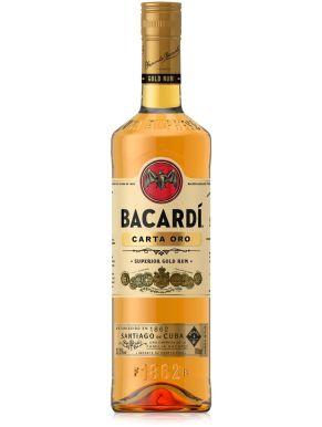 Bacardi Carta Oro Superior Gold Rum 75cl