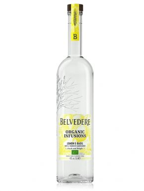 Belvedere Organic Lemon & Basil Vodka 70cl