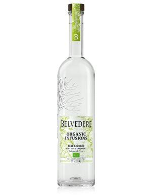 Belvedere Organic Pear & Ginger Vodka 70cl