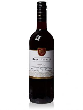 Berri Estates Shiraz Red Wine Australia 75cl