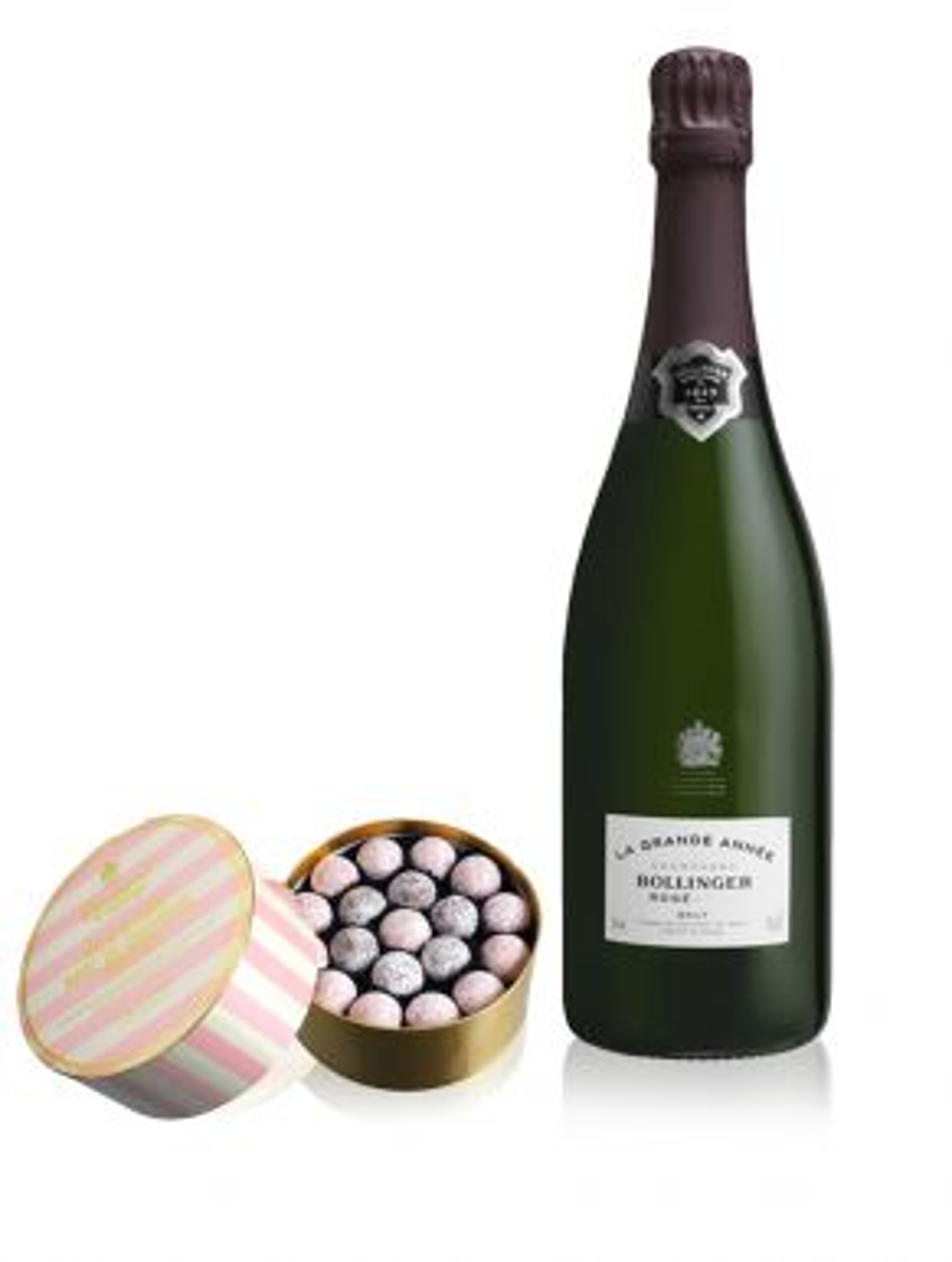 Bollinger La Grande Annee Rose 2005 Champagne 75cl & Truffles 650g