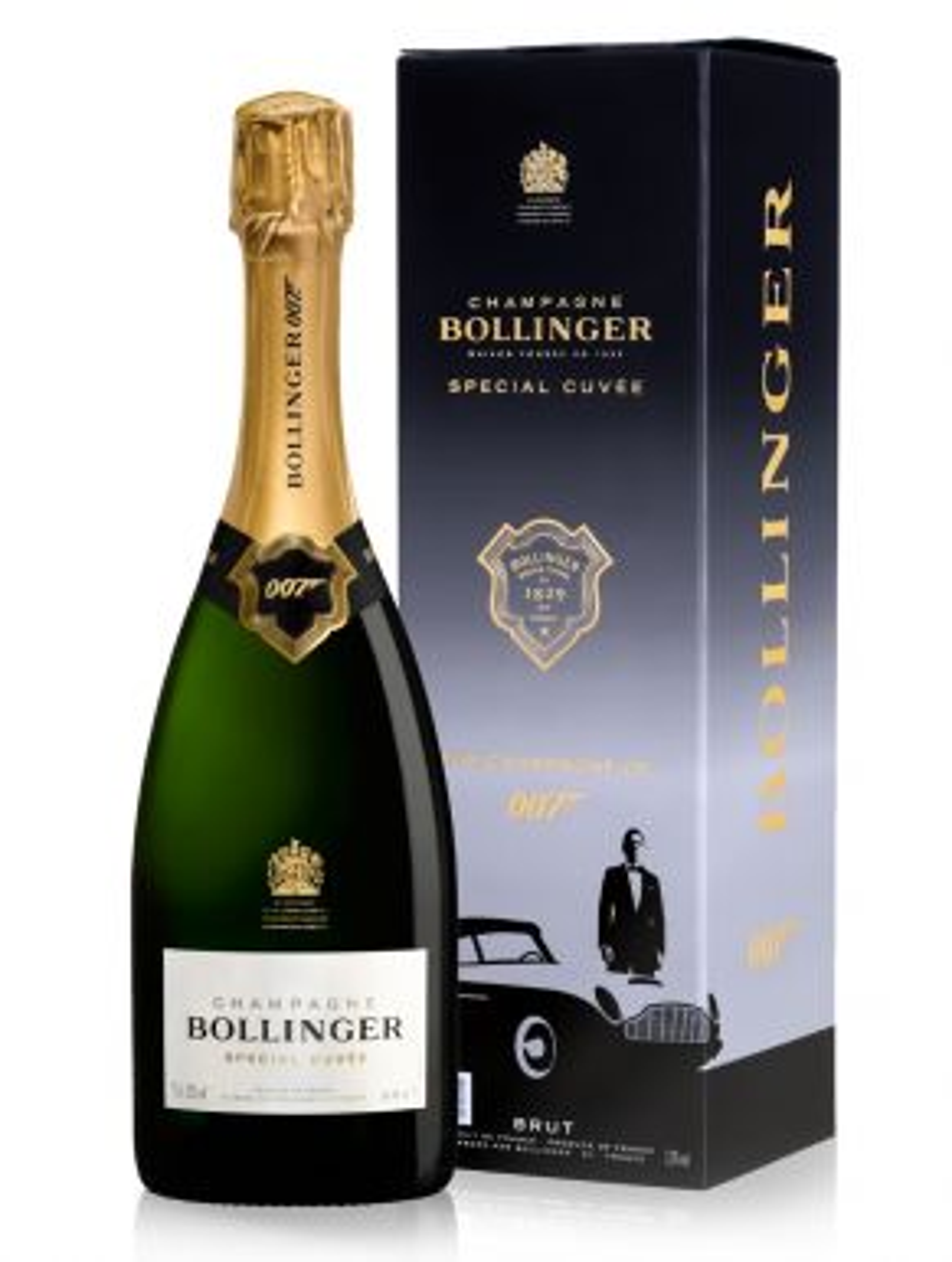 Bollinger Special Cuvée Champagne James Bond Edition 75cl