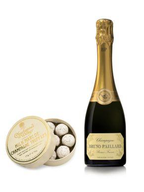 Bruno Paillard Brut NV Champagne 37.5cl & Milk Truffles 135g