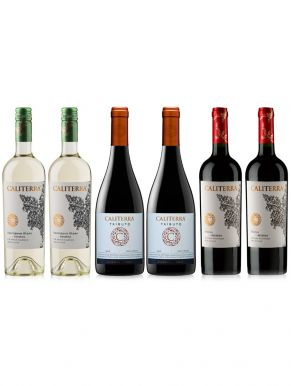 Caliterra Mixed Wine Case Deal 6 x 75cl
