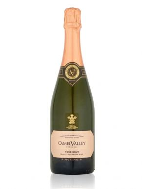 Camel Valley Pinot Noir Rosé Sparkling Wine 2017 Cornwall 75cl