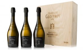 Champagne Geoffroy Collection No.1 Preambulle Case 3 x 75cl