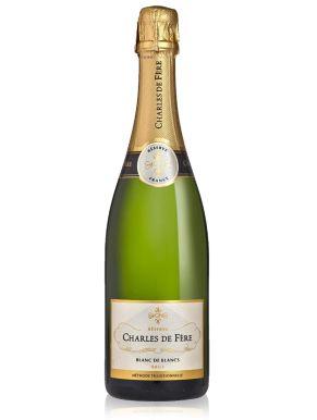 Charles De Fere Jean-Louis Blanc de Blanc Sparkling Wine France 75cl