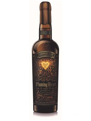 Flaming Heart Compass Box Blended Scotch Whisky 70cl Limited Edition