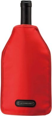 Le Creuset Wine Cooler Sleeve Red 75cl
