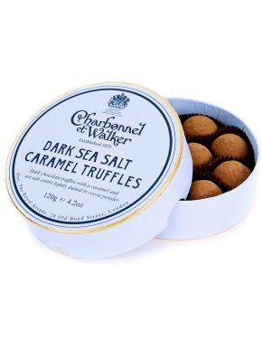 Charbonnel & Walker Dark Sea Salt Caramel Truffles 120g