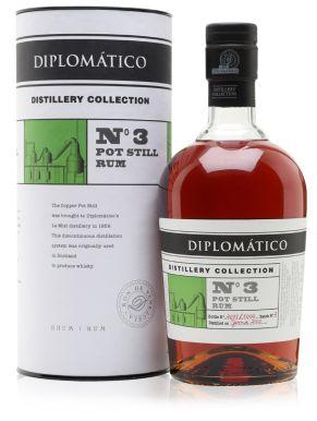 Diplomatico Distillery Collection No.3 Pot Still Rum 70cl