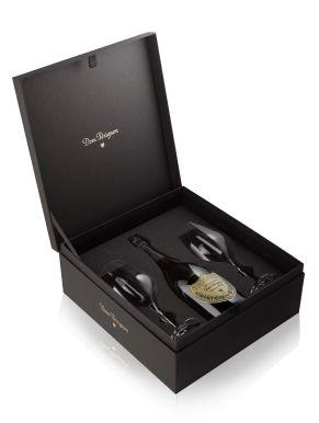 Dom Perignon 2008 Champagne 75cl 2 x Riedel Flute Gift Set
