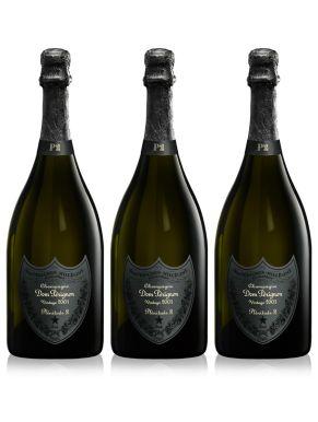 Dom Perignon 2003 Plenitude P2 Vintage Champagne 3 x 75cl