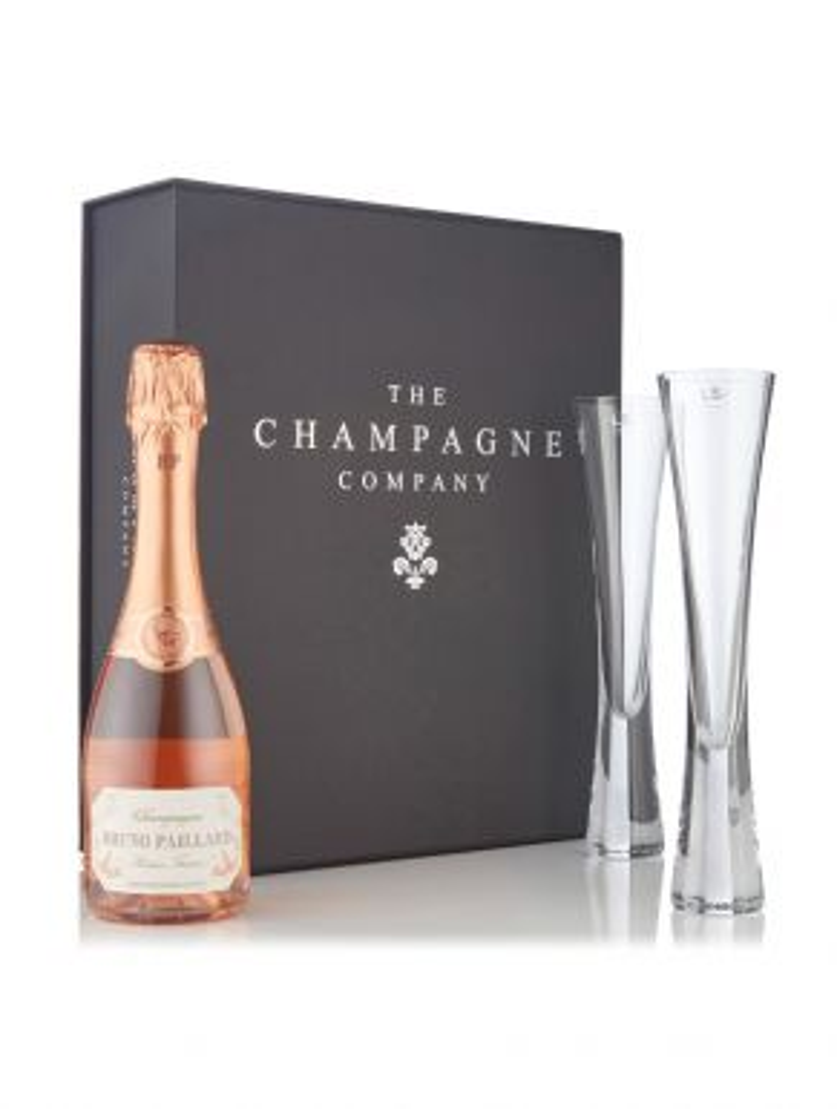 Bruno Paillard Rosé Half & LSA Moya Flutes Luxury Gift Box