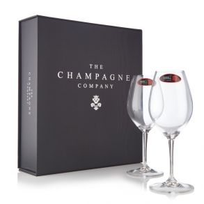 Riedel Champagne Glasses Set of 2 in Luxury Gift Box