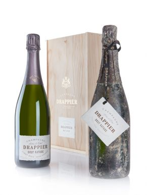 Drappier Brut Nature Champagne Immersion Set 2 x 75cl