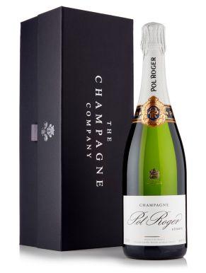 Pol Roger Brut Réserve Champagne 75cl Luxury Gift Box