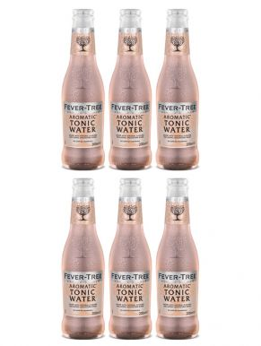 Fever Tree Aromatic Tonic Water 20cl x 6 Bottles
