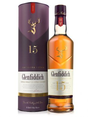 Glenfiddich 15 year old Whisky 70cl