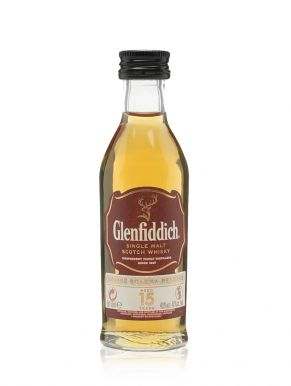 Glenfiddich 15 Year Old Whisky Miniature 5cl