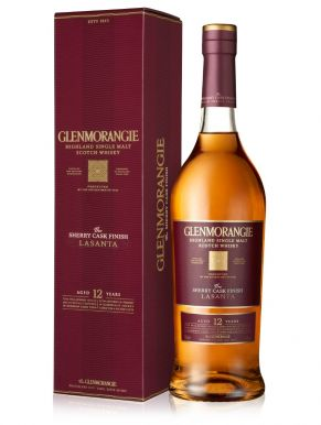 Glenmorangie Lasanta 12 Year Old Highland Whisky 70cl Gift Box