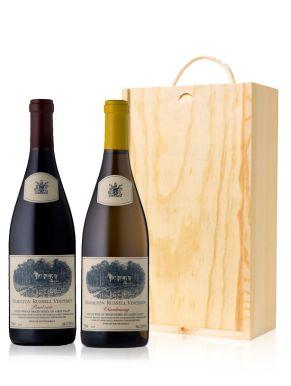 Hamilton Russell Wine Gift 2 Bottles Wooden Gift Box