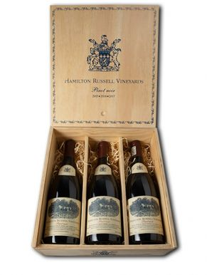Hamilton Russell Pinot Noir Vertical Case Red Wine 3x75cl
