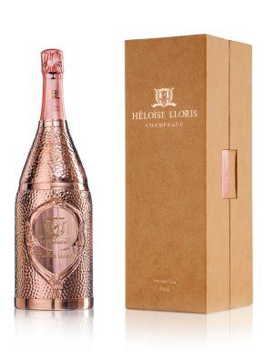 Héloïse-Lloris Premier Cru 18k Gold Rosé Champagne 150cl