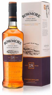 Bowmore 18 year old Islay Single Malt Scotch Whisky 70cl