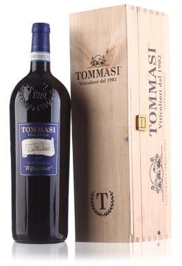 Tommasi 'Ripasso' Valpolicella Red Wine Magnum Wooden Gift Box 150cl