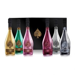 Armand De Brignac Ace of Spades La Collection Champagne 6 x 75cl