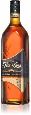 Flor de Caña Black Label 5 yr Rum 70cl