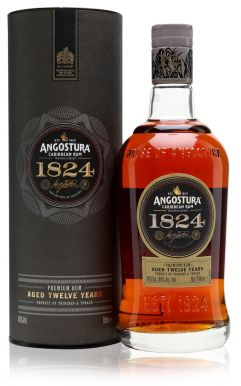 Angostura 1824 12 Year Old Caribbean Rum 70cl Gift Box