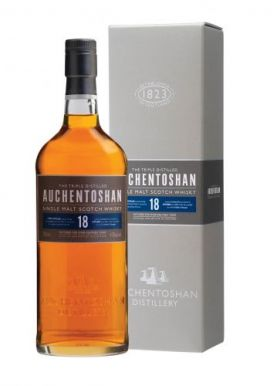 Auchentoshan 18 Year Old Whisky Gift Box