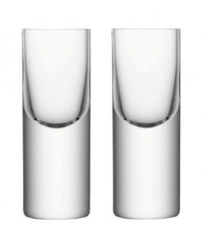 LSA Boris Vodka Shot Glasses - 50ml (Set of 2)