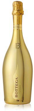 Bottega Gold Prosecco Brut Vino Dei Poeti Gold 75cl
