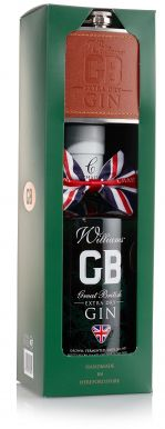 Chase Great British Extra Dry Gin with Hip Flask Gift Set 70cl