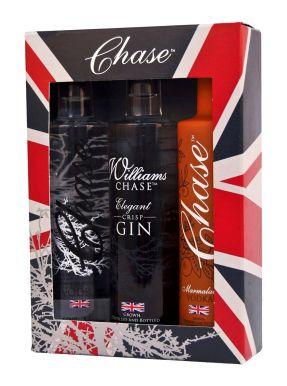 Chase Vodka Union Jack Trio Miniatures Gift Set 3x5cl