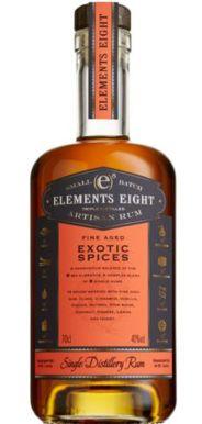 Elements 8 Barrel Exotic Spices Rum 70cl