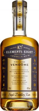 Elements Eight Fine Aged Vendome Single Distillery Rum 70cl