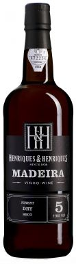 Henriques & Henriques 5 Year Old Finest Dry Madeira Wine 50cl