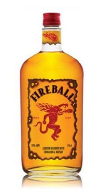 Fireball Liqueur Blended with Cinnamon and Whisky 70cl